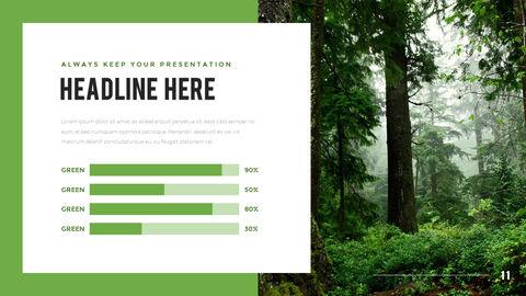 산과 숲 프레젠테이션용 PowerPoint 템플릿_11