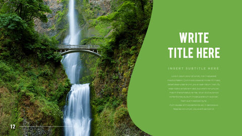 Mountain & Forest PowerPoint Templates for Presentation_12