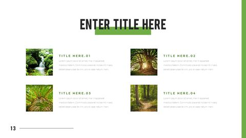 Mountain & Forest PowerPoint Templates for Presentation_13