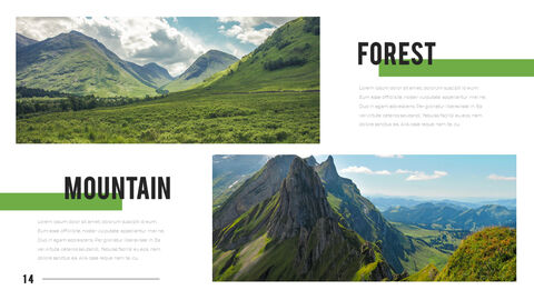 Mountain & Forest PowerPoint Templates for Presentation_14