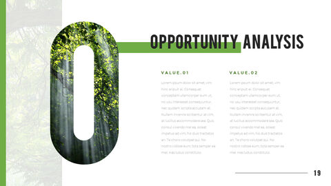 산과 숲 프레젠테이션용 PowerPoint 템플릿_19