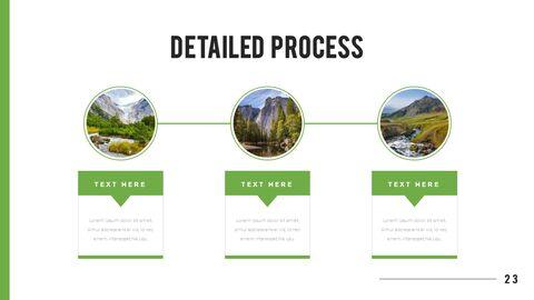 산과 숲 프레젠테이션용 PowerPoint 템플릿_23