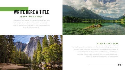 산과 숲 프레젠테이션용 PowerPoint 템플릿_26