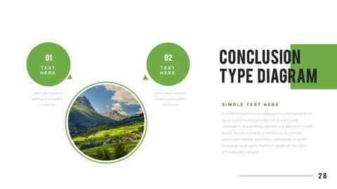 산과 숲 프레젠테이션용 PowerPoint 템플릿_28