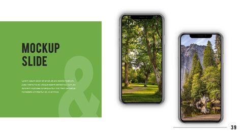 산과 숲 프레젠테이션용 PowerPoint 템플릿_39