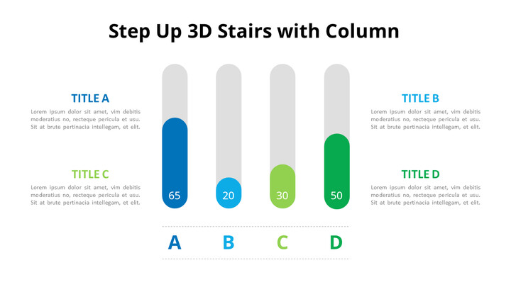Rounded Column Chart Diagram_01