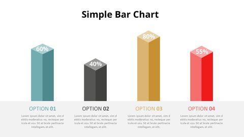 Simple Square 3D Bar Chart Diagram_03