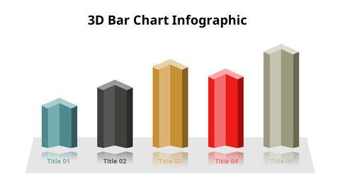 Simple Square 3D Bar Chart Diagram_04