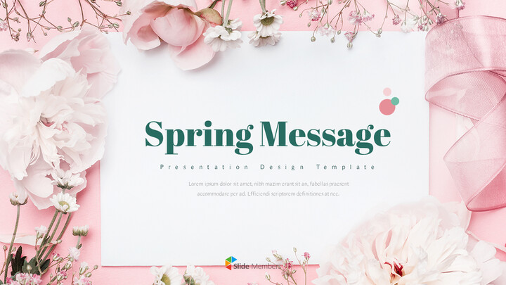 Spring Message PPT Format_01
