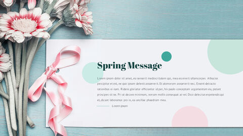 Spring Message PPT Format_21