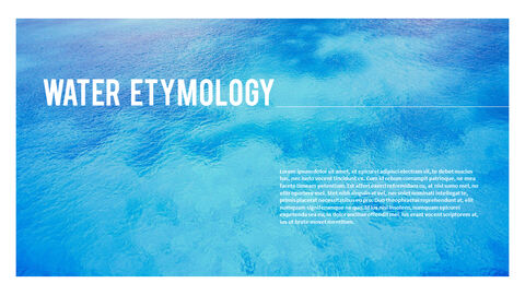 water Simple PowerPoint Template Design_04