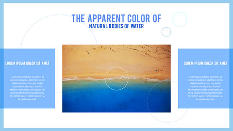 Water Simple PowerPoint Template Design_08