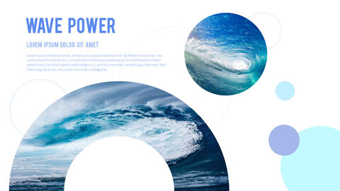 Water Simple PowerPoint Template Design_09
