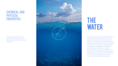Water Simple PowerPoint Template Design_10