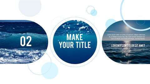 Water Simple PowerPoint Template Design_13