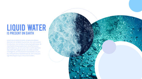 Water Simple PowerPoint Template Design_14