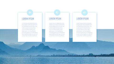 Water Simple PowerPoint Template Design_18