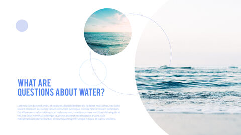 Water Simple PowerPoint Template Design_19