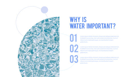 Water Simple PowerPoint Template Design_23