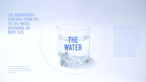 Water Simple PowerPoint Template Design_24