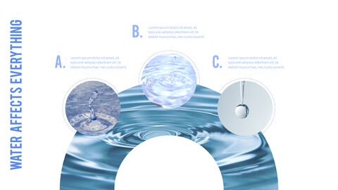 Water Simple PowerPoint Template Design_25