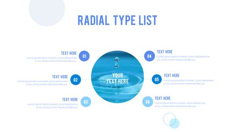 Water Simple PowerPoint Template Design_26