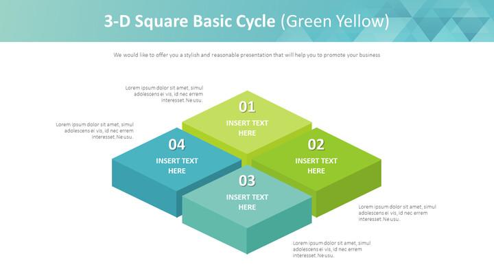 3 차원 사각 기본주기 다이어그램 (녹색 황색)_01