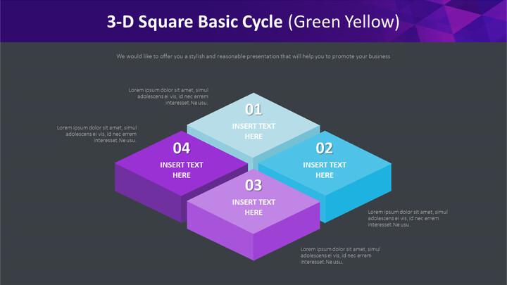 3 차원 사각 기본주기 다이어그램 (녹색 황색)_02