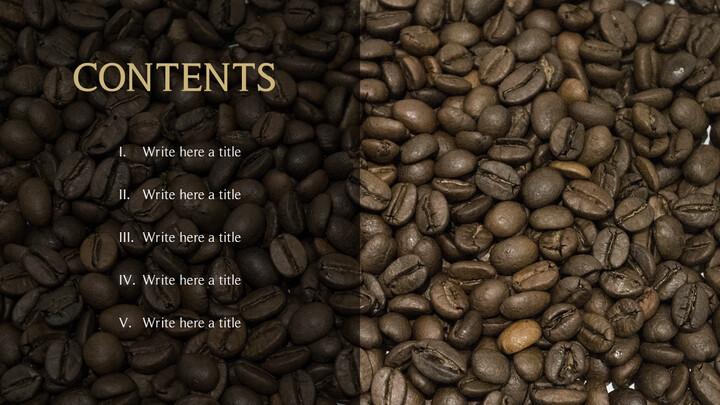커피의 향기 파워포인트 템플릿_02