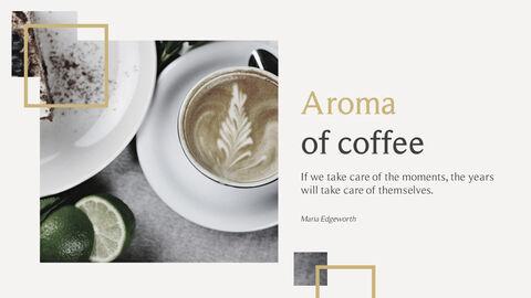 커피의 향기 파워포인트 템플릿_05