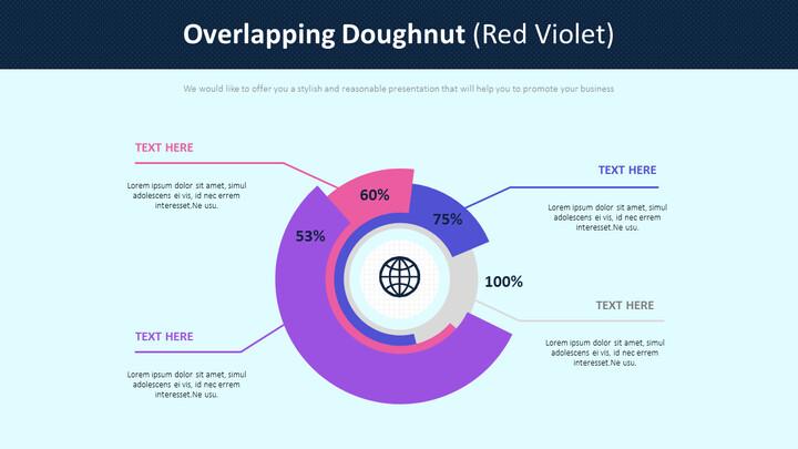Overlapping Doughnut Diagram (Red Violet)_01