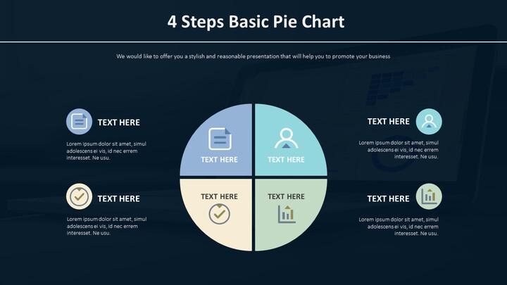 4 단계 기본 파이 차트 다이어그램_01