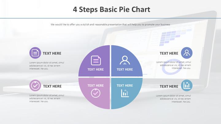 4 단계 기본 파이 차트 다이어그램_02