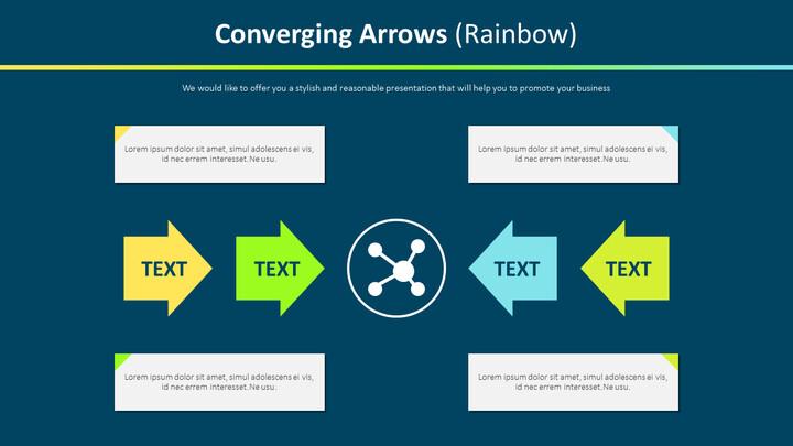 Converging Arrows Diagram (Rainbow)_02