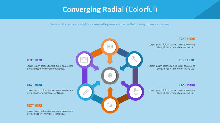 Converging Radial Diagram (<span class=\'highlight\'>Colorful</span>)_02