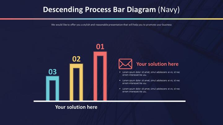 Descending Process Bar Diagram (Navy)_01