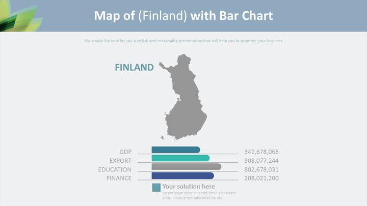 (핀란드)의 지도 바 차트 다이어그램_01