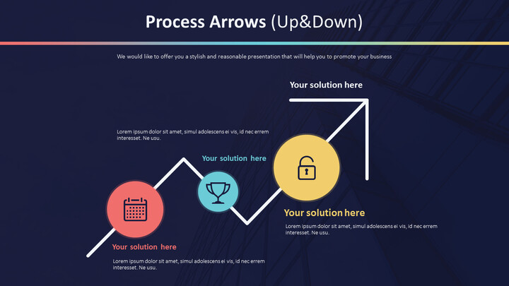 Process Arrows Diagram (Up&Down)_01