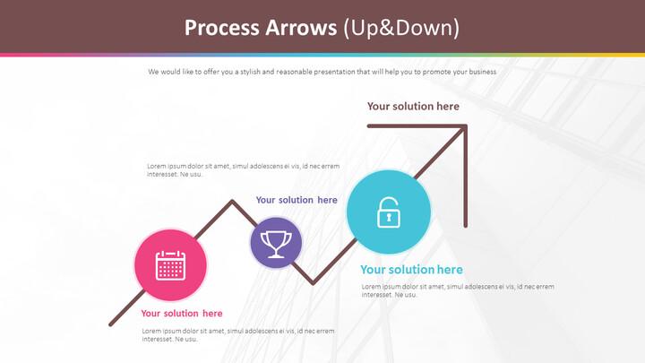 Process Arrows Diagram (Up&Down)_02