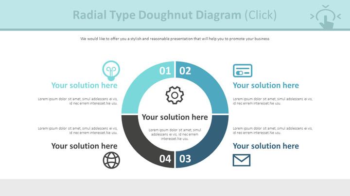 Radial Type Doughnut Diagram (Click)_01