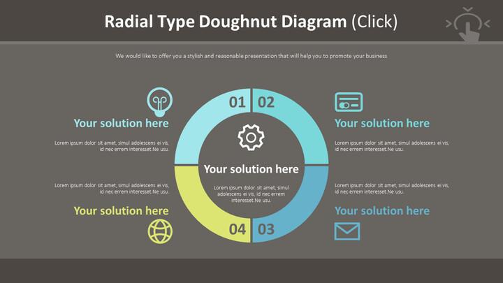 Radial Type Doughnut Diagram (Click)_02
