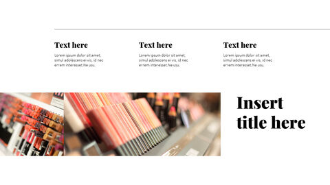 화장품 및 메이크업 PowerPoint 템플릿 디자인_09