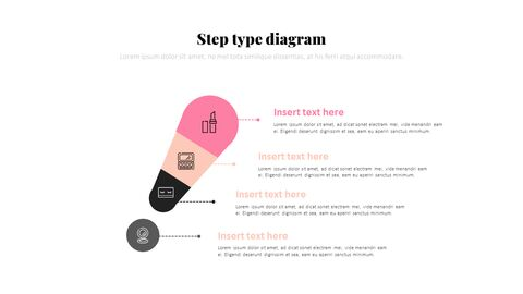화장품 및 메이크업 PowerPoint 템플릿 디자인_32