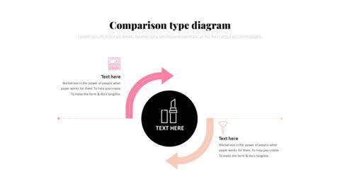 화장품 및 메이크업 PowerPoint 템플릿 디자인_33