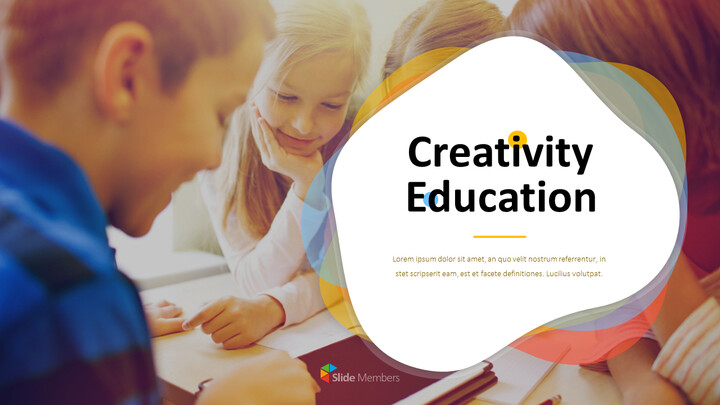 Creativity Education PowerPoint Presentation Templates_01