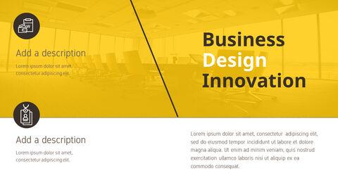 비즈니스 디자인 이노베이션 프레젠테이션용 PowerPoint 템플릿_03