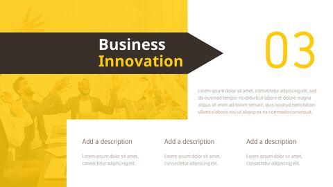 비즈니스 디자인 이노베이션 프레젠테이션용 PowerPoint 템플릿_05