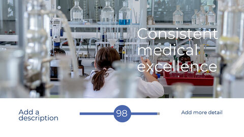 블루컨셉 의학 관련 파워포인트 템플릿_35