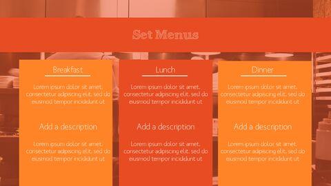 훌륭한 요리(퀴진) PowerPoint 프레젠테이션 템플릿_08