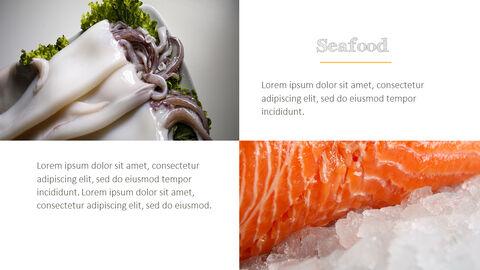 훌륭한 요리(퀴진) PowerPoint 프레젠테이션 템플릿_14
